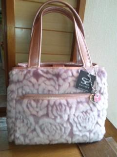 サボイのバッグを買ったよぉ(^<br />  ○^)