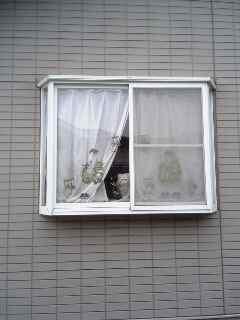 出窓より覗く可愛い姿よ!